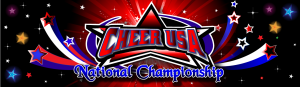 Cheer USA Banner Backdrop